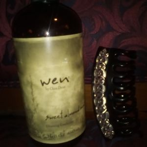Wen sweet almond cleansing conditioner
